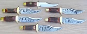 6 SCHRADE BOWIES by HERMAN WILLIAMS
