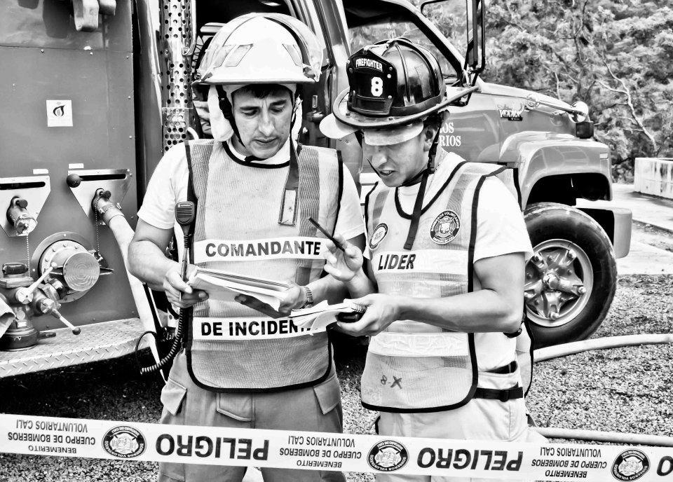 Entrenamiento HazMat Bomberos Cali Colombia Octubre 2011