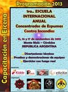 Iª ESCUELA INTERNACIONAL ANUAL DE CONCENTRADOS DE ESPUMAS CONTRA INCENDIOS