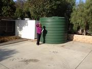 Cistern w/ my Mother