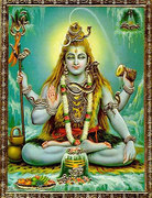 Shiva - paintings and photographs