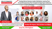 Free Birmingham Des OConnors Women in Business Conference