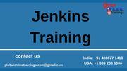 Jenkins Training | Jenkins Certification Training - GOT