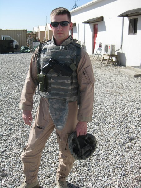 Matt in Afghanistan