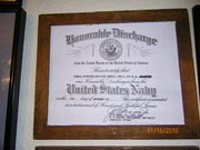 honorable discharge from the naval reserve 1971