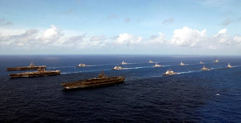 3 Carrier Battle Groups