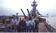 Tin Can Sailors onboard USS NEW JERSEY