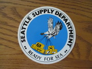 USS SEATTLE AOE 3 Supply Dept.