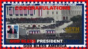 GOD BLESS PRESIDENT TRUMP  FROM CHAPLAIN'S CORNER MINISTRIES TULARE, CA