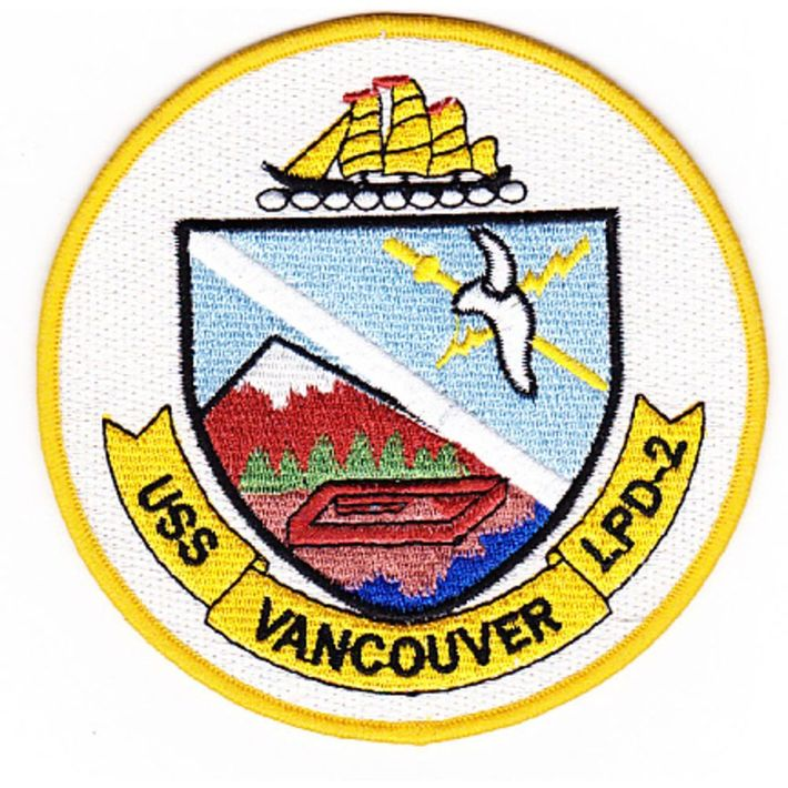 uss vancouver patch