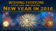 HAPPY NEW YEAR 2018 FROM THE CHAPLAIN'S CORNER MINISTRIES TULARE, CA ON FACEBOOK