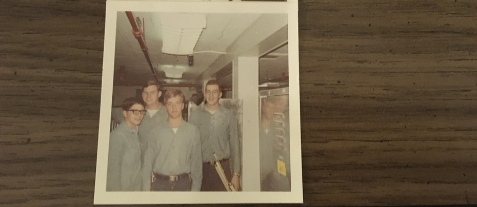 Some of the crew 1967