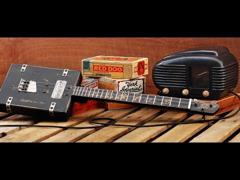 Old Time Cigar Box Guitar Blues