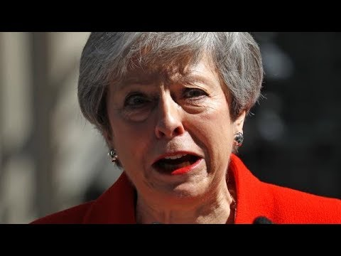 Theresa May to resign as UK prime minister / speech