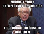 Problem Solution Bernie Style