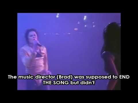 Watch Michael Jackson Fire His Musical Director Without Missing A Beat Onstage!
