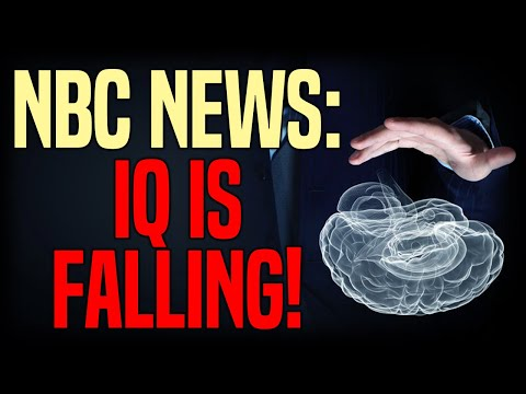 NBC News: IQ rates are dropping in many developed countries