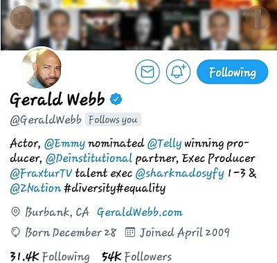 GERALD WEBB...YOUNG GIFTED