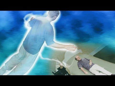 Experiência fora do corpo - Visão espírita