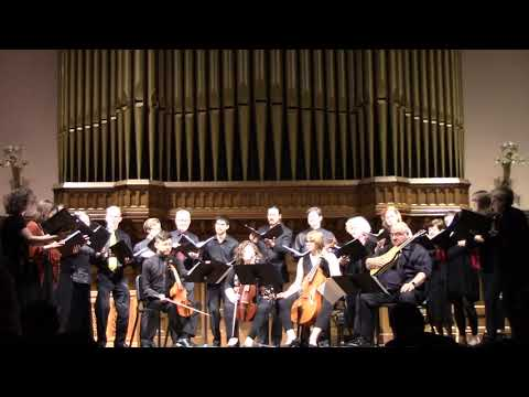 La Bomba by Mateo Flecha (1481-1553), Case Western Reserve Early Music Singers and Collegium Musicum