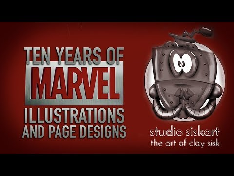 Studio Siskart Marvel Retrospective