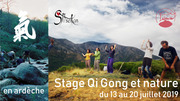 Stage Qi-Gong et Nature - Ardèche