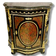ANDRE' CHARLES BOULLE STYLE BAHUT (Cabinet)