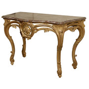 Transitional Gilt-wood Console