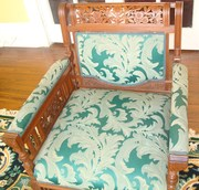 1 of 2 arm chairs