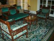Antiques living room furniture