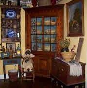 Ralph Brothers Corner Cupboard