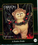 Hallmark Carlton Cards Little Heirloom Treasures 10th anniversity Hedgehog #158