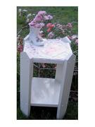 Shabby Romantic Cottage Mosaic Table