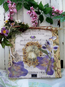 'Forest Fairy' Prayer Collage Mixed Media