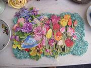 SOLD!Spring Tulips Lilacs,Pansies Stash
