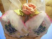 Handmade Shabby Dipped Rose