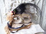 Marie Antoinette's Halloween Mask