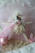 'Angel Dreams' Vintage Embellished Starfish Ornament