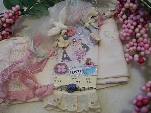 Bride Collage Tag. SOLD!