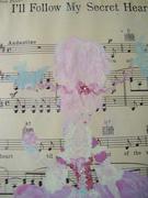 SOLD! Marie Antoinette 'Cupcake n Bluebirds'