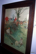 Victor Venner hunting print