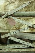 Old Folding Measuring Stick