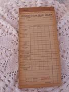 Vintage Receipt Book