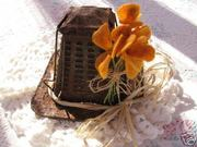 Vintage Toaster with Poppies