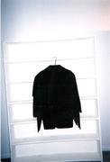 Black Leather Fring Jacket