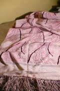 Vintage 40's silk scarf