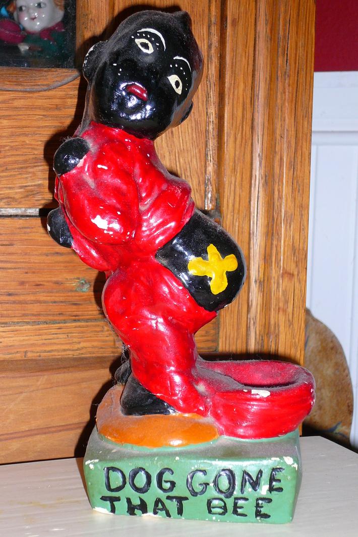 black americana chalkware
