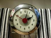 Sentinel Wafer chrome clock