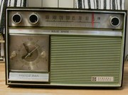 General Electric early transistor clock radio