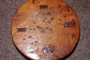 Antique stool topview